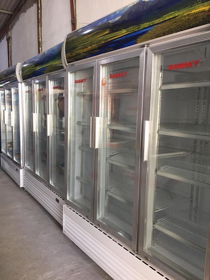 Thanh lý 1000 tủ mát sanaky cũ tại hải phòng 0913040613 | docuhaiphong.vn